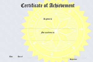 How to Make Certificates for Fundraisers