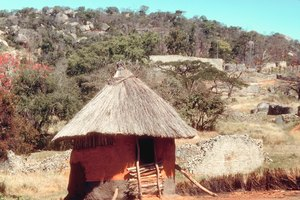 How to Make a Paper African Hut