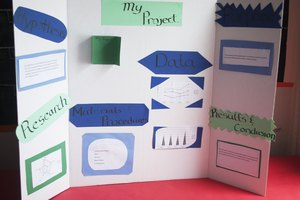 Trifold Display Board Presentation Ideas for Student Projects