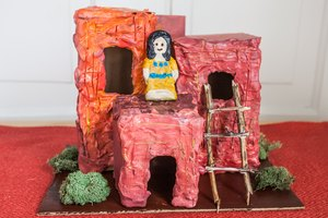 How to Make a Hopi Pueblo Diorama