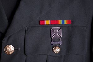 How to Place Army Ribbons on a Class A Uniform