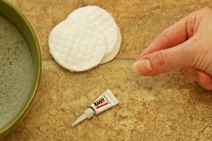 How to Remove Crazy Super Glue From Fingers