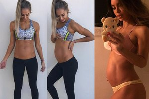 Abdominales en el embarazo: ¿Es posible tener un vientre chato durante la gestación?