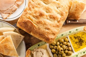 How to Slice and Serve Focaccia Bread Wedges