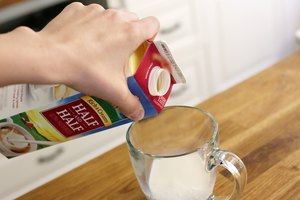 How to Substitute Half-and-Half for Whipping Cream