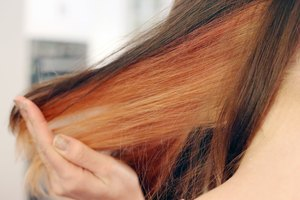 How to Dye Peek-a-Boo Hair