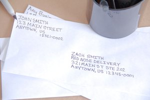 The Proper Way to Write an Address