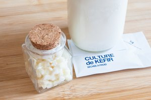 How to Store Kefir Grains