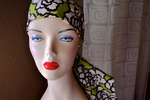 Sewing Instructions for Head Scarves for Cancer Patients