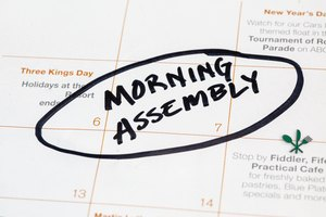 Ideas for Morning Assembly