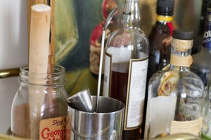 How to Organize Alcohol on Bar Shelves