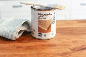 How to Apply Behandla to a Butcher Block