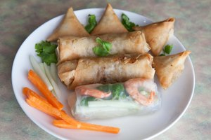 How to Use Spring Roll Skins