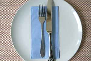 How to Place Utensils When Finished Eating