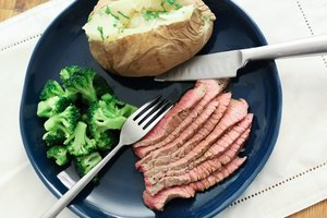 How to Cook a London Broil in a Convection Oven