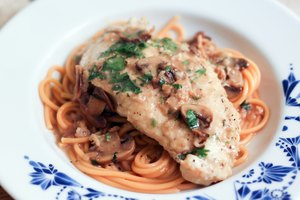 How to Thicken a Marsala Sauce