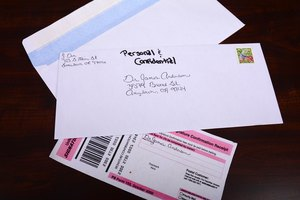 how to write mailing address on envelope