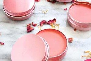 DIY All Natural Tinted Lip Balm