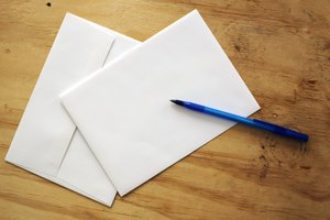 How to Fill Out an Envelope for Mailing