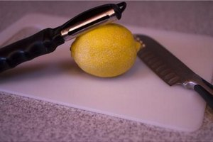 How to Zest a Lemon Without a Zester