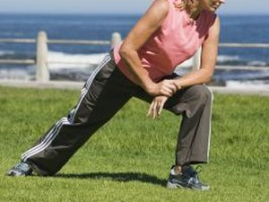 Lunges & Stretches