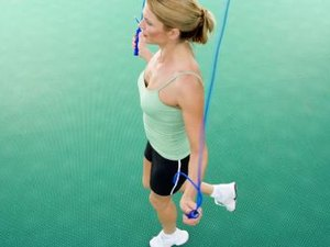 One Legged Jump Rope Exercises