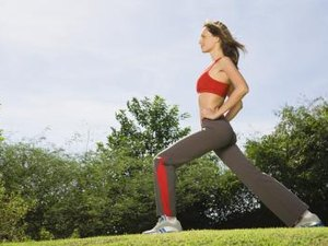 Walking Lunges for Great Legs