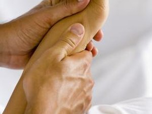 how to ease foot cramps during yoga  woman