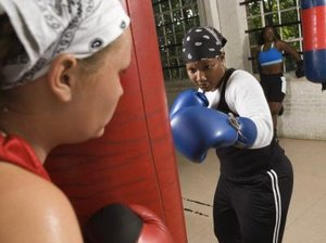 Exercise Routines for Using a Heavy Punching Bag