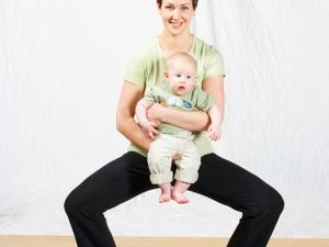 Squatting and Stretching the Pelvic Muscles