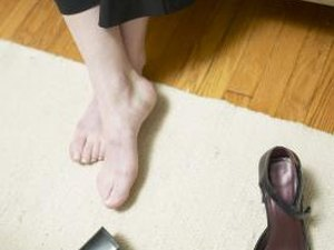 Stretches for a Tight Instep Under the Foot