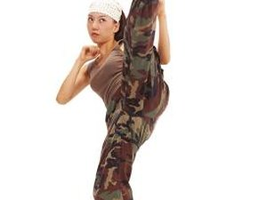 High Kick Stretch Exercises