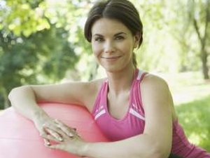 Full Body Workout on a Stability Ball for 30 Minutes at Home
