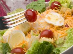 Are Hard-Boiled Eggs a Healthy Salad Topping?