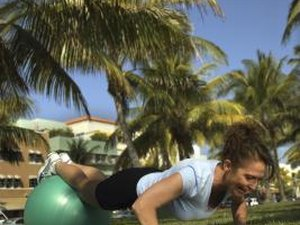 Exercises Using Therapeutic Balls
