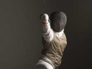 How to Keep Your Front Foot Straight for Fencing Lunges
