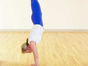How to Not Arch Your Back on a Handstand