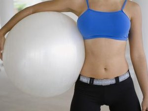 How to Tone Abs With a Yoga Ball