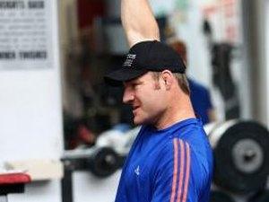 Bodybuilder Shoulder Training