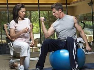 Biceps Workout on the Stability Ball