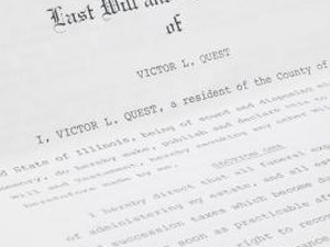 Do I Sign an Heirship Affidavit Even If My Dad Had a Will?
