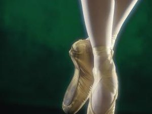 Ballet Foot-stretching Exercises With Resistance Bands