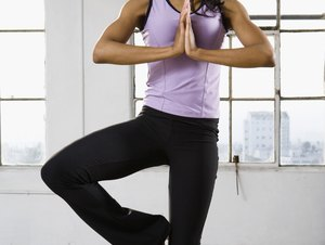 yoga for thinner thighs  woman