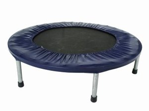 Circuit Training Exercises on a Mini Trampoline