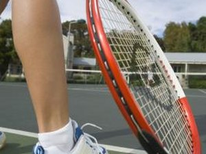 Warming Up Sore Calf Muscles Before Tennis