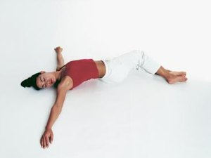 Yoga Position to Ease Painful Bloating & Gas