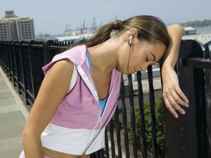 Running & Physical Exhaustion