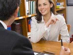 How to Look Older for a Job Interview at a Law Firm