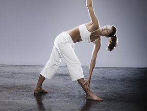 yoga postures that are good for calves  woman
