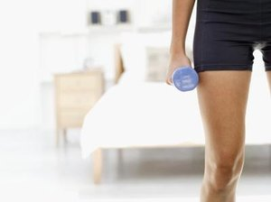 Dumbbell Exercises for the Thigh Adductors